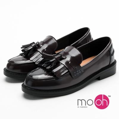 穿脫方便又迅速 時尚黑色流蘇設計 舒適防滑鞋底,行走更安全無慮 軟面皮革,不磨腳