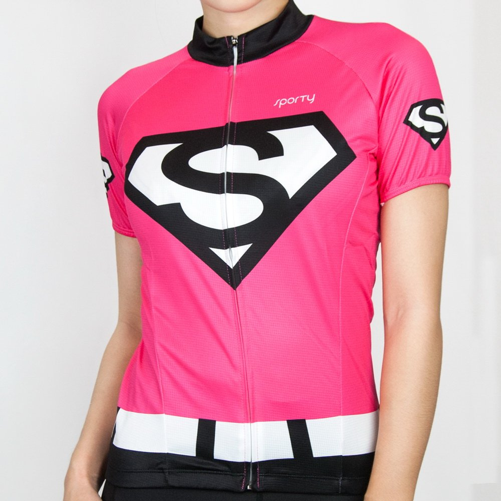 《SPORTY 司普堤》C-0757 Sporty_SUPER 女用短袖機能服