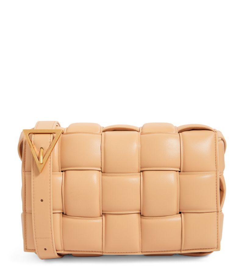 Bottega Veneta Leather Padded Cassette Cross-Body Bag