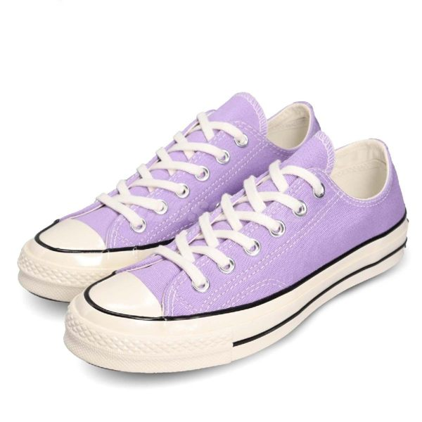 Converse Chuck Taylor All Star 70 紫 米白仿舊 奶油底 基本款 女鞋【PUMP306】 164405C