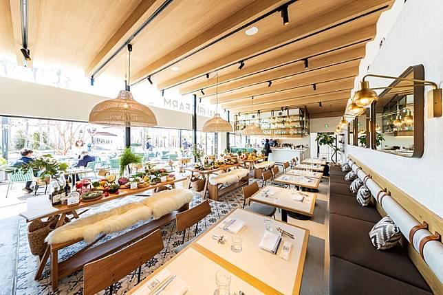 MALIBU FARM餐廳裝潢充滿美式風情。(互聯網)