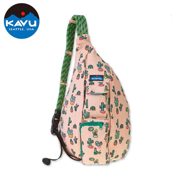 【西雅圖 KAVU】Rope Bag 休閒肩背包 棘刺仙人掌 #923