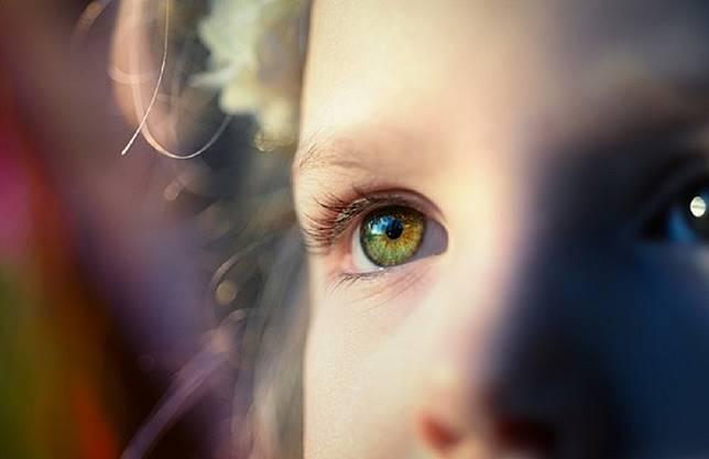 Pixabay-女童眼睛