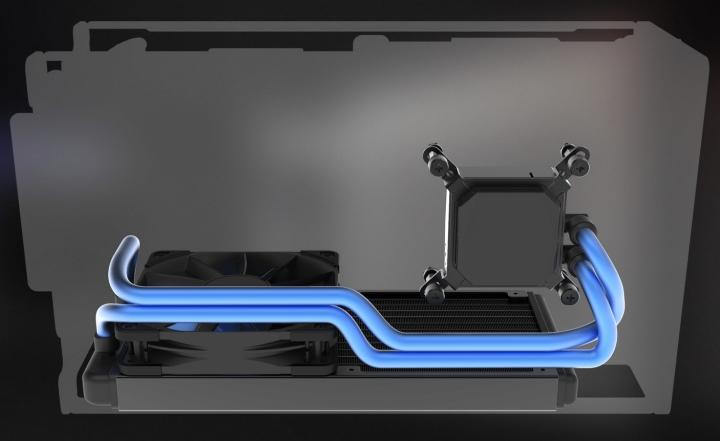 水冷系統能讓電腦更穩定與安靜。