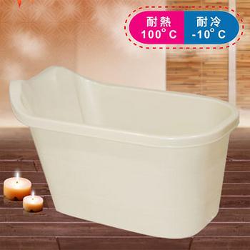 《真心良品》湯屋SPA精巧泡澡桶(三色可選)