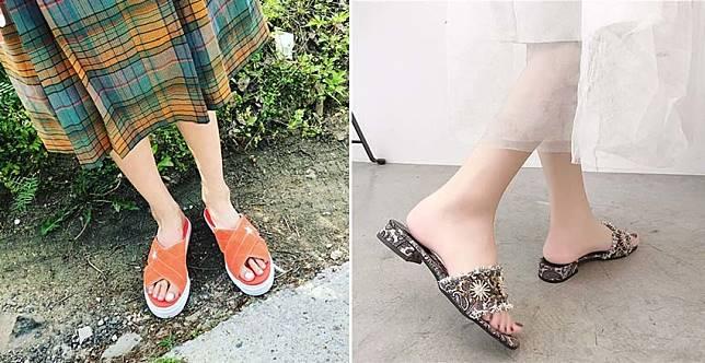 腳ㄚ子大解放!拖鞋穿出門超時髦,本季一定要來一雙