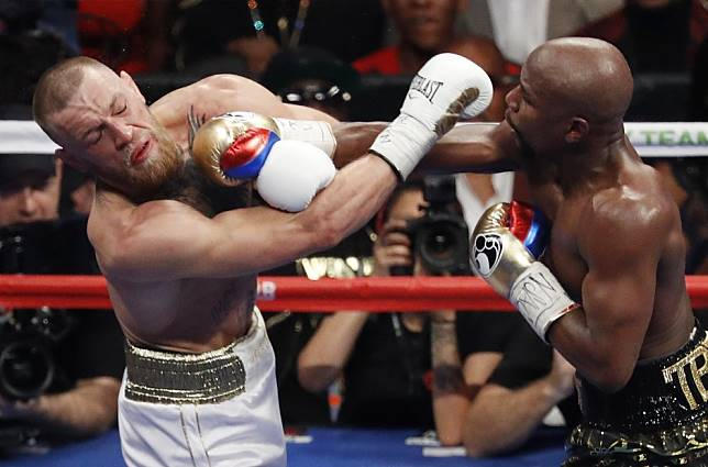 Floyd Mayweather Jnr says he 'didn't really train' for historic Conor McGregor fight in 2017