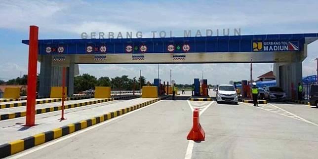 Gerbang Tol Madiun (Liputan6.com)