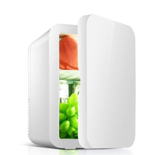 sast先科8L迷你小冰箱家用學生宿舍母乳化妝面膜水果冷藏車載兩用 MKS薇薇