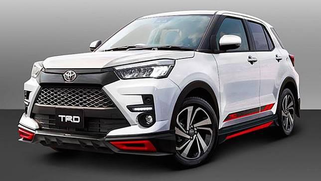 Tampilan Lebih Sporty Toyota Raize dengan Aksesoris TRD (paultan)