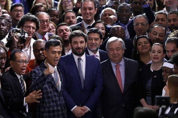 RI Pertegas Nilai Kemanusiaan Universal di Forum Menteri Pemuda Sedunia