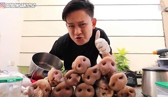 Goreng TV hingga Masak Hidung Babi 5 Masakan Ekstrim Ini Bikin YouTuber Bobon Santoso Viral