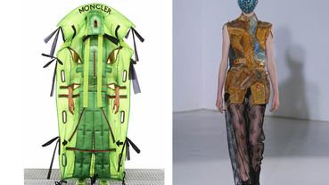 起點解題 / 從 Moncler Genius 2020 聯想 如果讓時尚設計師來打造防護衣、面罩…那會是什麼模樣