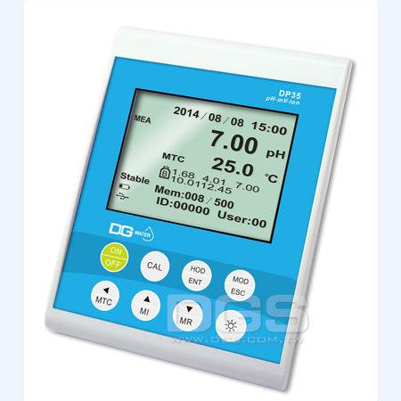 《DGWater》桌上型 pH/ORP/ION計 DP35 PH/ORP/ION Meter