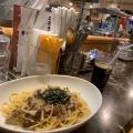 きのことベーコン - 実際訪問したユーザーが直接撮影して投稿した新宿パスタジンジン 新宿店の写真のメニュー情報