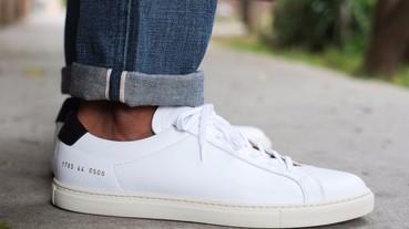 手工皮鞋般的高端製作,秋日白鞋嚴選推薦!