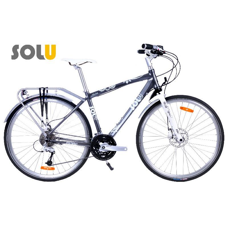 #腳踏車 #自行車 #城市旅行車 #台灣製造WISDOM擁有最超值且細膩的整體零件搭配。擁有漂亮的鋁合金肌肉線條且無焊點之車架,搭配專利短行程避震前叉,讓整體架構有著跑車的俐落與登山車的避震效果。FS