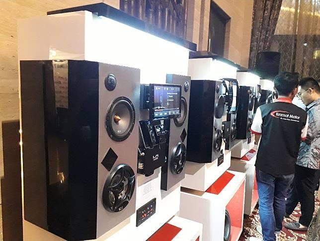 Deretan head unit terbaru dan audio dari Kramat Motor