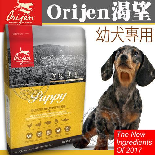 【培菓平價寵物網】(送台彩刮刮卡2張)Orijen 渴望》鮮雞幼犬-1kg