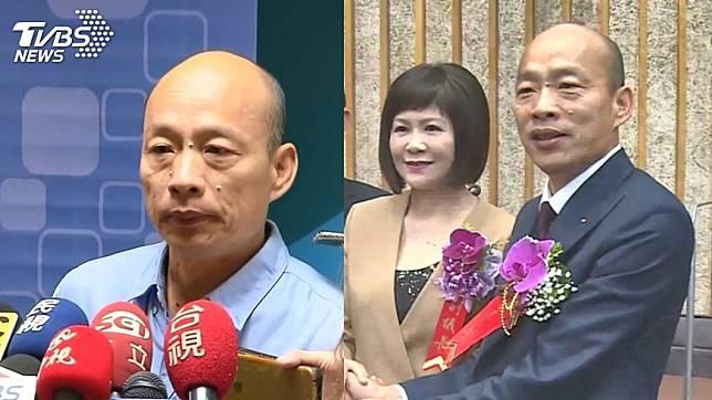 高雄市議會副議長陸淑美(圖右二)今表態「挺郭反韓」。圖/TVBS資料畫面