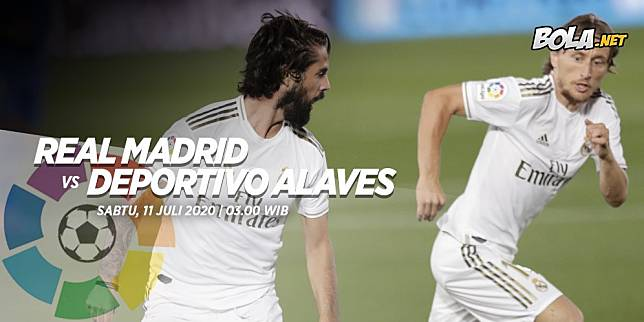 La Liga, Real Madrid vs Deportivo Alaves (c) Bola.net
