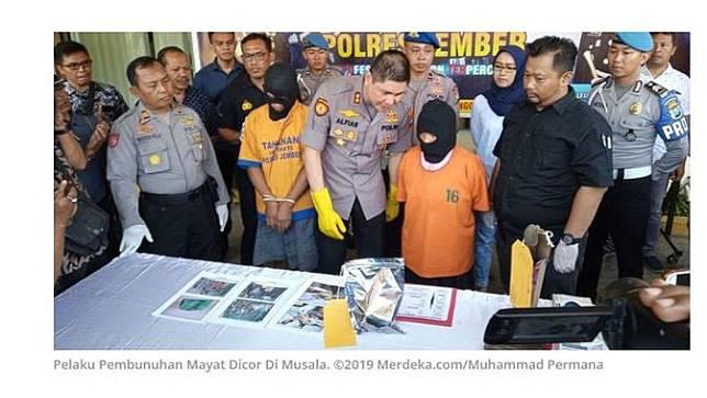 Deretan Fakta Penemuan Jasad Dicor di Musala, Dibunuh hingga Motif Asmara
