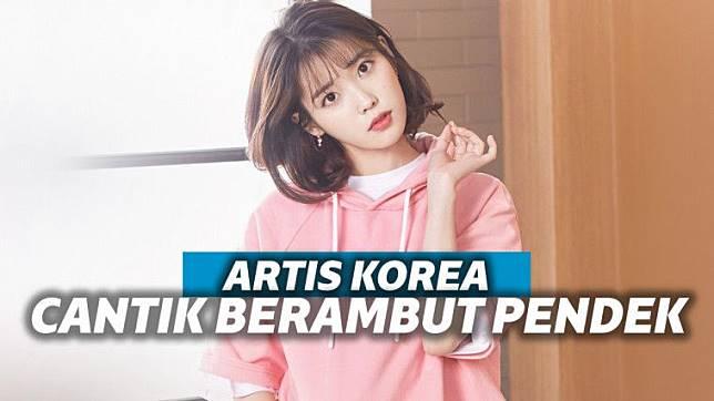 9 Seleb Korea Dengan Rambut Pendek Yang Cantik Banget Keepo Me Line Today
