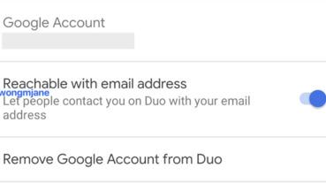 Google Duo 可能放寬以 Email 代替電話綁定帳號