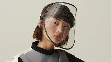 傳說中的 LV 口罩長這樣(其實是面罩),沒看過給你看一下
