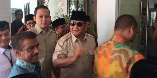 Tiru Reagen dan Trump, Prabowo bilang 'Make Indonesia Great Again'