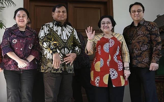 Prabowo jadi calon menteri, Puan ingatkan Jokowi jatah PDIP