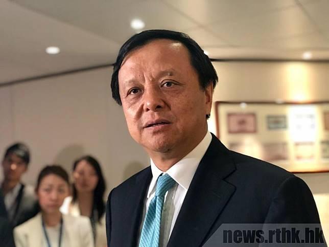 李小加稱香港國際金融中心地位非常重要,很多國際投資者已提及顧慮,香港要留住這些投資者,並持續吸引全球投資者。(羅煒皓攝)