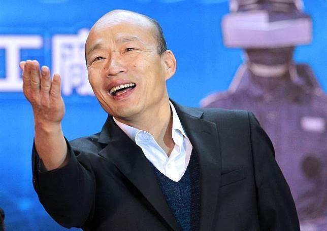 高雄巿長韓國瑜。(資料照片)