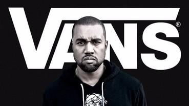 肯爺偷穿私人訂製版 Vans!難道滑板鞋品牌也要出 Yeezy 系列了?