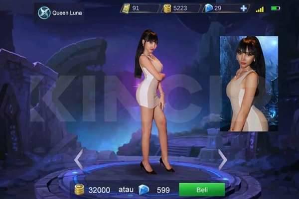 Begini Jadinya kalau Lucinta Luna Jadi Hero Mobile Legends