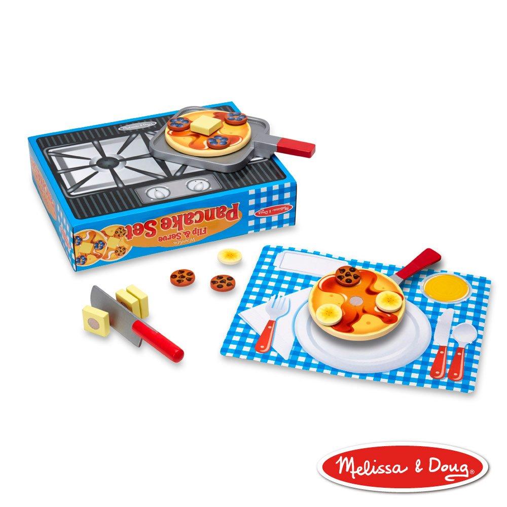 美國瑪莉莎 Melissa & Doug 玩食趣 - 鬆餅料理鍋具組