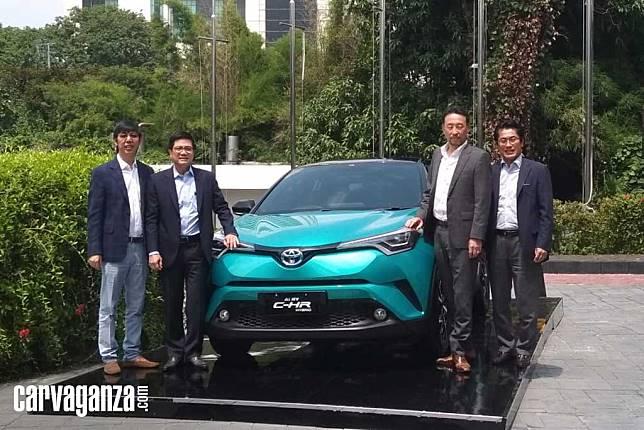 Toyota C-HR Hybrid Resmi Meluncur, Harga Mulai Rp 523 Juta