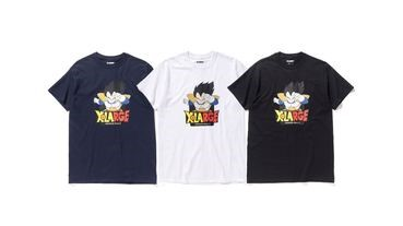 XLARGE x《Dragon Ball Z》2017 夏季聯乘別注 T-Shirt系列