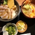 のどぐろ炙り丼ランチ - 実際訪問したユーザーが直接撮影して投稿した代々木居酒屋いかの墨 新宿南口店の写真のメニュー情報