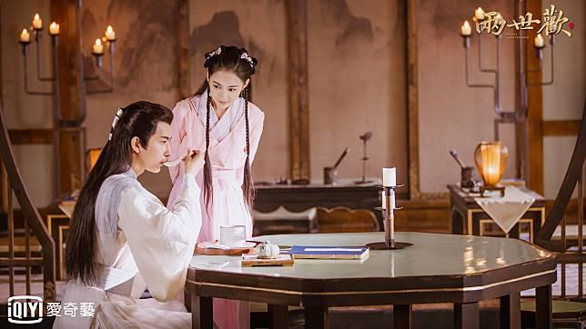 愛奇藝台灣站提供01_于朦朧、陳鈺琪「瓷碗CP」甜虐好評爆棚