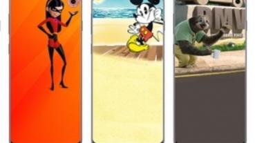與迪士尼皮克斯合作,三星推出 S10 / S10e 專用挖孔桌布