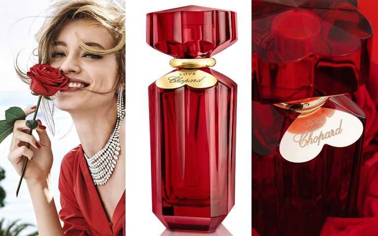 LOVE CHOPARD 愛在蕭邦淡香精 30ml/2,000元、50ml/3,050元、100ml/4,100元 因為有了瓶身頸部的金色心之花,若作為戀人間的定情之物也很適合。(圖/品牌提供、IG@maisondebeautetaiwan)