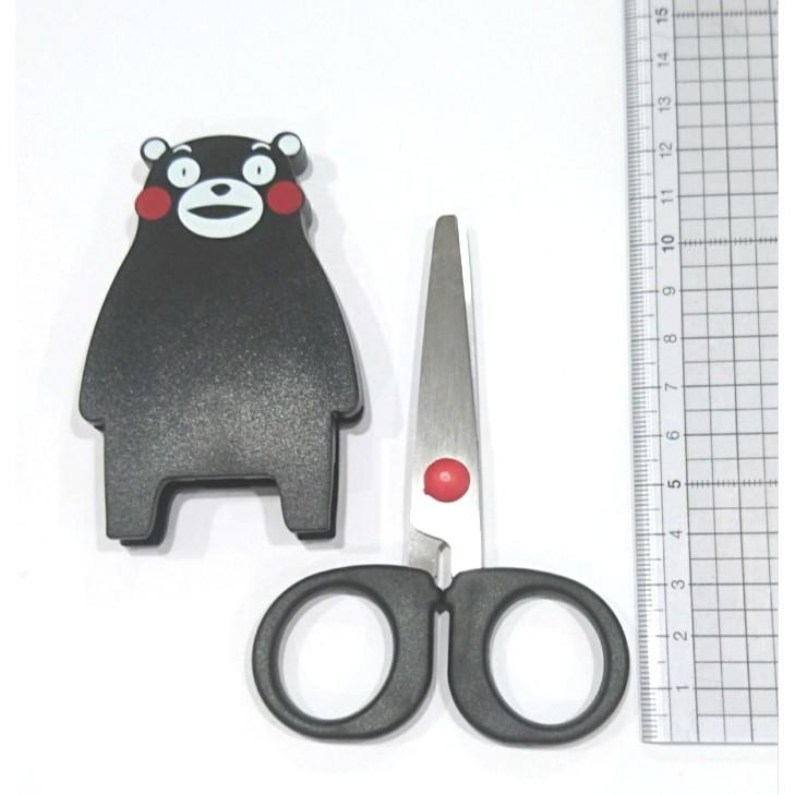 [現貨] CHL 日本 Canary 長谷川刃物 K-115 熊本熊 KUMAMON 造型 剪刀