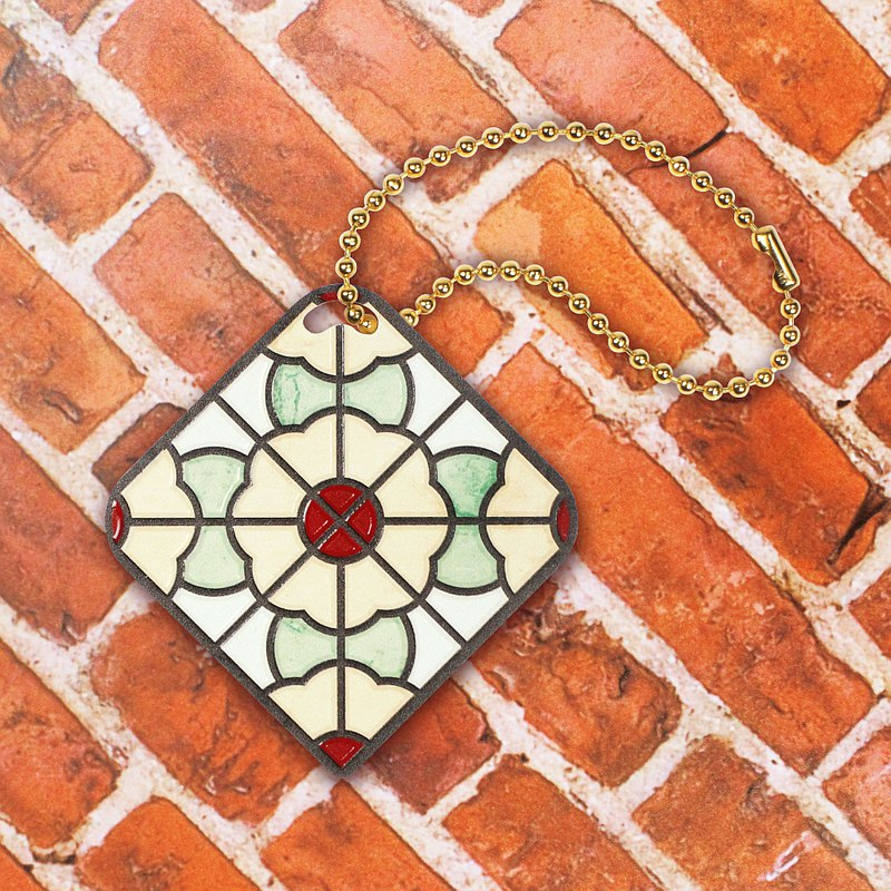 花磚造型悠遊卡-最是熟悉