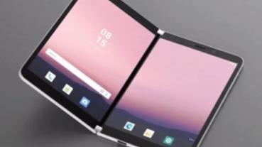 接電話前可先「偷看」,微軟 Surface Duo 雙螢幕摺疊機有設計巧思