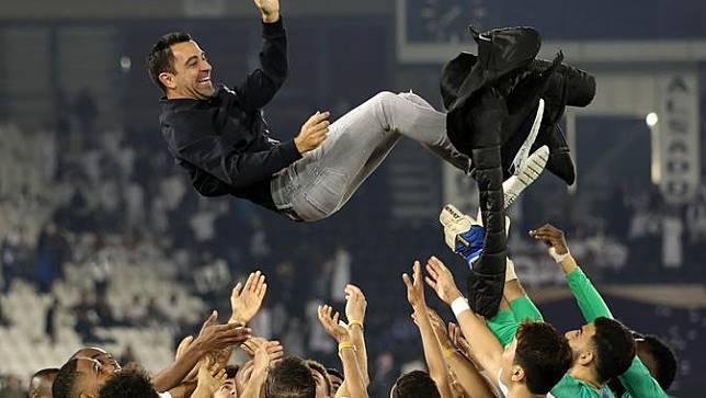 Mantan pemain Barcelona, Xavi Hernandez