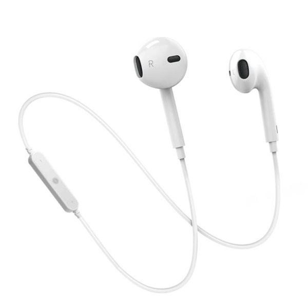藍芽耳機 雙耳運動跑步耳塞入耳式掛脖頸戴式迷你XR開車iPhone7蘋果XS Max男女通用8p可接聽電話x