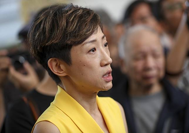 Brain tumour 'larger than a ping-pong ball' prompts deferment of Hong Kong lawmaker Tanya Chan's Occupy sentencing
