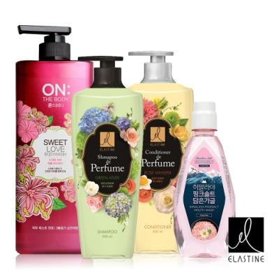 修護受損髮質,維持柔順亮澤 散發獨特香氣,持久飄香 香水般甜美浪漫香氣 清爽口感,淨化口腔健康