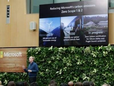 Microsoft Janjikan Lenyapkan Jejak Karbon di Pembuatan Produk